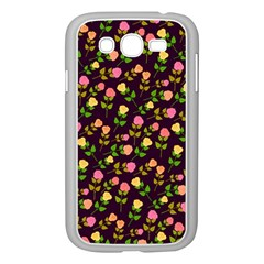 Flowers Roses Floral Flowery Samsung Galaxy Grand DUOS I9082 Case (White) by Simbadda