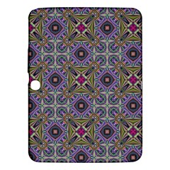 Vintage Abstract Unique Original Samsung Galaxy Tab 3 (10 1 ) P5200 Hardshell Case  by Simbadda