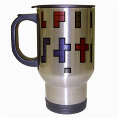 Hexominos Travel Mug (silver Gray)