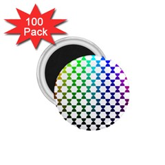 Half Circle 1 75  Magnets (100 Pack)  by Simbadda