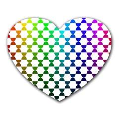 Half Circle Heart Mousepads by Simbadda