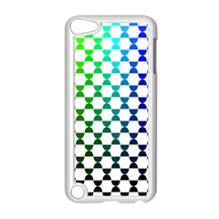 Half Circle Apple Ipod Touch 5 Case (white) by Simbadda