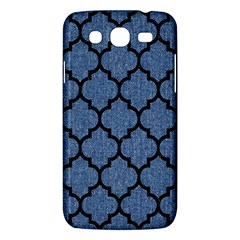 Tile1 Black Marble & Blue Denim (r) Samsung Galaxy Mega 5 8 I9152 Hardshell Case  by trendistuff