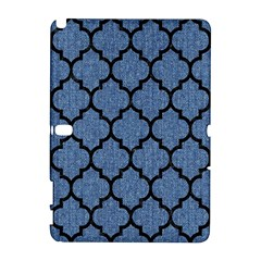 Tile1 Black Marble & Blue Denim (r) Samsung Galaxy Note 10 1 (p600) Hardshell Case by trendistuff