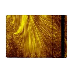 Flower Gold Hair Apple Ipad Mini Flip Case by Alisyart