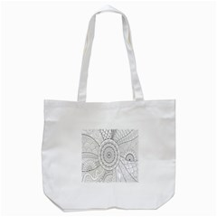 Flower Rose Flowering Sunflower Black Tote Bag (white) by Alisyart