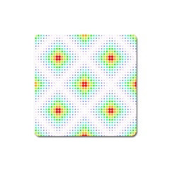 Color Square Square Magnet