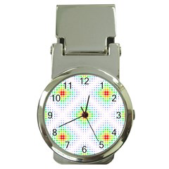 Color Square Money Clip Watches by Simbadda