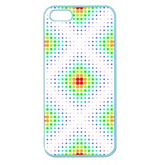 Color Square Apple Seamless Iphone 5 Case (color) by Simbadda