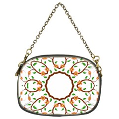 Frame Floral Tree Flower Leaf Star Circle Chain Purses (two Sides)  by Alisyart