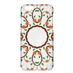 Frame Floral Tree Flower Leaf Star Circle Apple Iphone 6 Plus/6s Plus Hardshell Case by Alisyart
