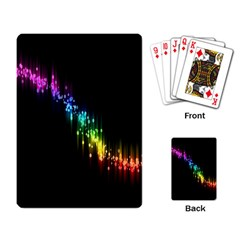Illustrations Black Colorful Line Purple Yellow Pink Playing Card by Alisyart
