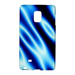Grunge Blue White Pattern Background Galaxy Note Edge by Simbadda