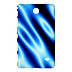 Grunge Blue White Pattern Background Samsung Galaxy Tab 4 (7 ) Hardshell Case  by Simbadda