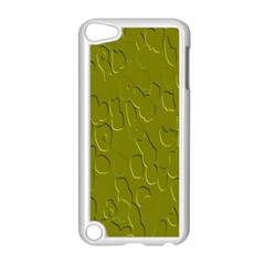 Olive Bubble Wallpaper Background Apple Ipod Touch 5 Case (white) by Simbadda