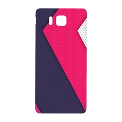 Pink Pattern Samsung Galaxy Alpha Hardshell Back Case by Simbadda