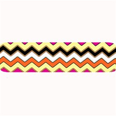 Colorful Chevron Pattern Stripes Pattern Large Bar Mats by Simbadda