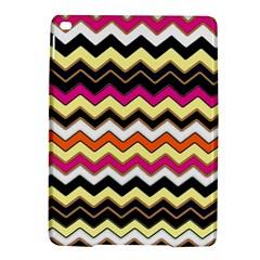 Colorful Chevron Pattern Stripes Pattern Ipad Air 2 Hardshell Cases by Simbadda
