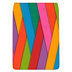 Colorful Lines Pattern Flap Covers (l)  by Simbadda