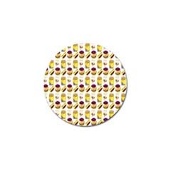 Hamburger And Fries Golf Ball Marker (10 pack) by Simbadda