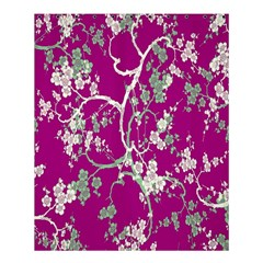 Floral Pattern Background Shower Curtain 60  X 72  (medium)  by Simbadda