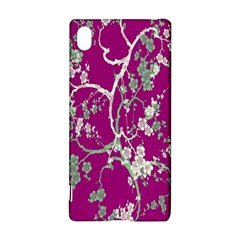 Floral Pattern Background Sony Xperia Z3+ by Simbadda