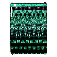 Green Triangle Patterns Apple iPad Mini Hardshell Case