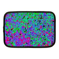 Green Purple Pink Background Netbook Case (medium)  by Simbadda