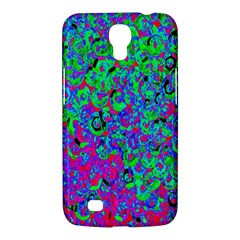 Green Purple Pink Background Samsung Galaxy Mega 6 3  I9200 Hardshell Case by Simbadda