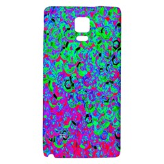 Green Purple Pink Background Galaxy Note 4 Back Case