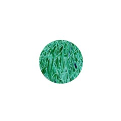 Green Background Pattern 1  Mini Magnets