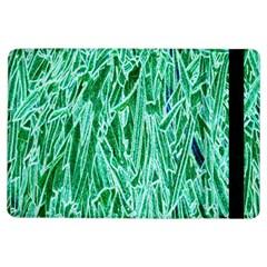 Green Background Pattern Ipad Air Flip by Simbadda