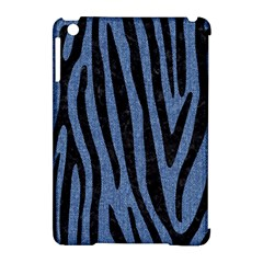 Skin4 Black Marble & Blue Denim Apple Ipad Mini Hardshell Case (compatible With Smart Cover) by trendistuff