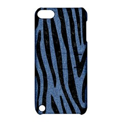 Skin4 Black Marble & Blue Denim Apple Ipod Touch 5 Hardshell Case With Stand by trendistuff
