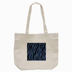 Skin3 Black Marble & Blue Denim (r) Tote Bag (cream) by trendistuff