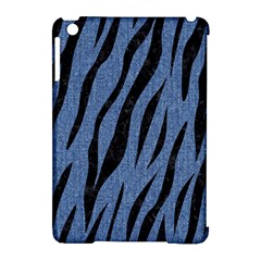 Skin3 Black Marble & Blue Denim (r) Apple Ipad Mini Hardshell Case (compatible With Smart Cover) by trendistuff