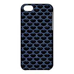 Scales3 Black Marble & Blue Denim Apple Iphone 5c Hardshell Case by trendistuff