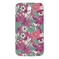 Seamless Floral Pattern Background Samsung Galaxy Mega I9200 Hardshell Back Case by TastefulDesigns