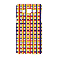 Yellow Blue Red Lines Color Pattern Samsung Galaxy A5 Hardshell Case