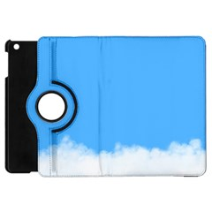 Blue Sky Clouds Day Apple Ipad Mini Flip 360 Case by Simbadda