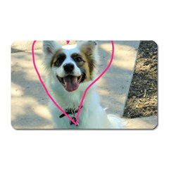 I Love You Magnet (rectangular)