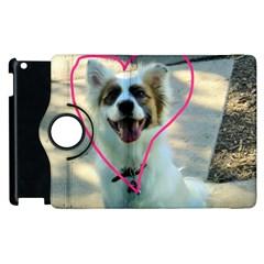 I Love You Apple Ipad 3/4 Flip 360 Case by CreatedByMeVictoriaB