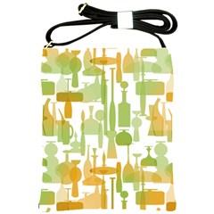 Angerine Blenko Glass Shoulder Sling Bags by Simbadda