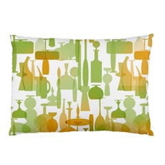 Angerine Blenko Glass Pillow Case (two Sides) by Simbadda