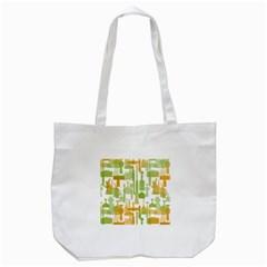 Angerine Blenko Glass Tote Bag (White) by Simbadda