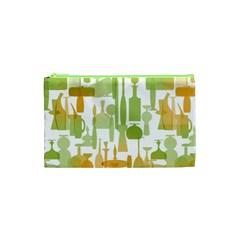 Angerine Blenko Glass Cosmetic Bag (xs) by Simbadda