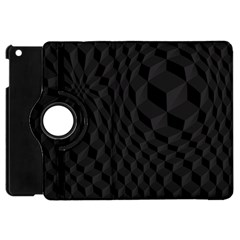 Pattern Dark Texture Background Apple Ipad Mini Flip 360 Case by Simbadda