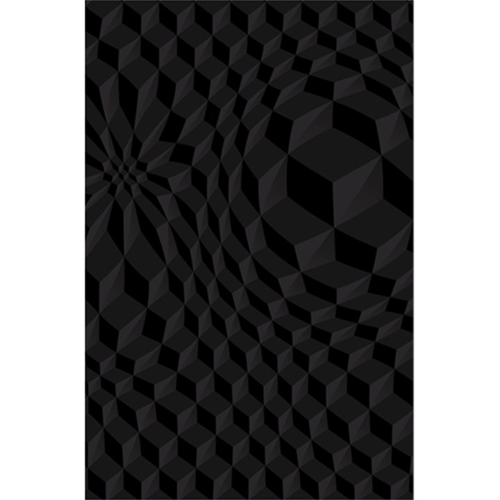 Pattern Dark Texture Background 5.5  x 8.5  Notebooks