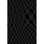 Pattern Dark Texture Background 5.5  x 8.5  Notebooks Back Cover