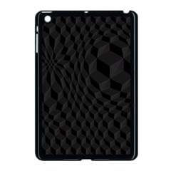 Pattern Dark Texture Background Apple Ipad Mini Case (black)